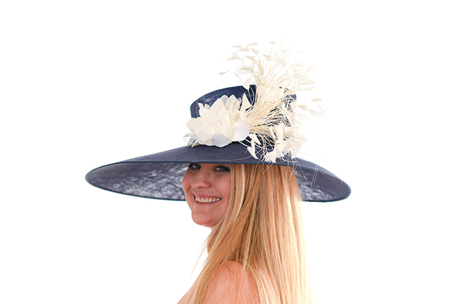 Blue Magnolia Hat