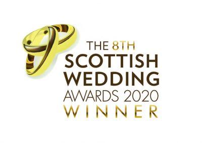 Scottish Wedding Award Winner 2020