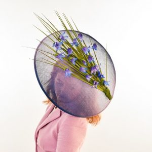 Scottish Harebell Large Brimmed Hat